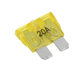 RTC4504 BCF4220A Automotive Standard LED Blade Fuse 20Amp Pack of 7 ADU1878L LR003732